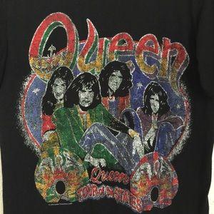 QUEEN Freddie Mercury tour tee