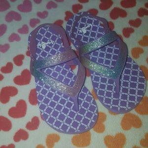 Sanuk Other - Little Girl Like New Sanuk Flip Flop Sandals