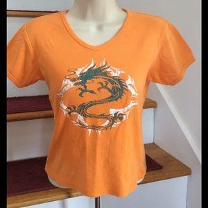 Soffe Tops - 🐉Cute dragon t-shirt