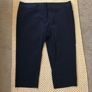 Eloquii Pants - Eloquii by The Limited Class Fit Crop Pants