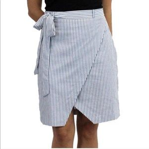 Relished Dresses & Skirts - So Cute Striped Envelope Skirt.