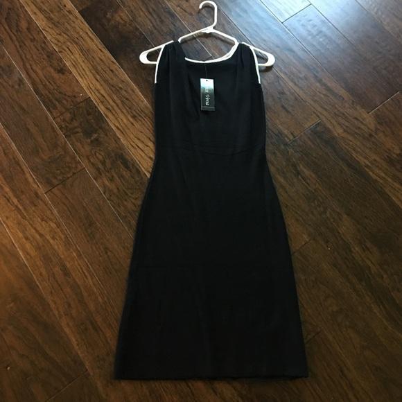 22fd3db8d Vice Versa Black Fitted Dress NWT