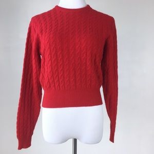 Ballantyne Sweaters - Vintage Cozy Soft Cashmere Size 3 Sweater Red