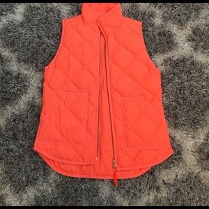 NWT jcrew quilted vest