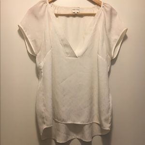 Reiss V-Neck Top