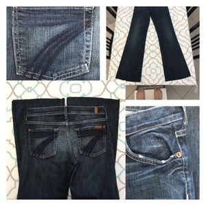 7 For All Mankind Denim - 💙👖Gorgeous 7FAM Dojo Jeans👖💙25 0 31 Distressed