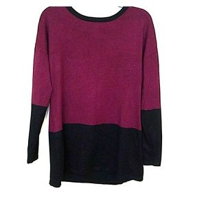 One A Colorblock Sweater Good Used Condition Large