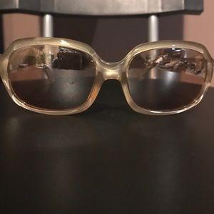 Mirrored coach glasses!