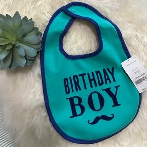 Carter's Other - NWT! Birthday boy bib!