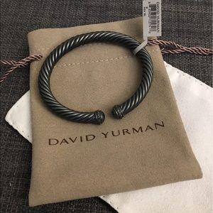 David Yurman Jewelry - David Yurman Black Diamond Bracelet