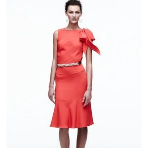 Sophie Theallet Dresses & Skirts - NWT Orange Bow Dress By Sophie Theallet