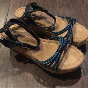 Minnetonka Shoes - New Minnetonka Wedges