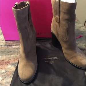 FLASH SALE Kate spade suede leather boots