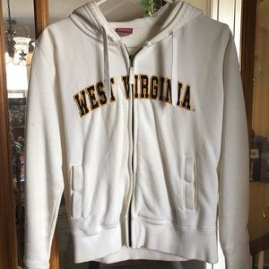 Colosseum Tops - WVU Zip-Up Hoodie