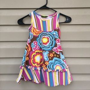Oilily Other - Oilily girls sleeveless multi colored dress