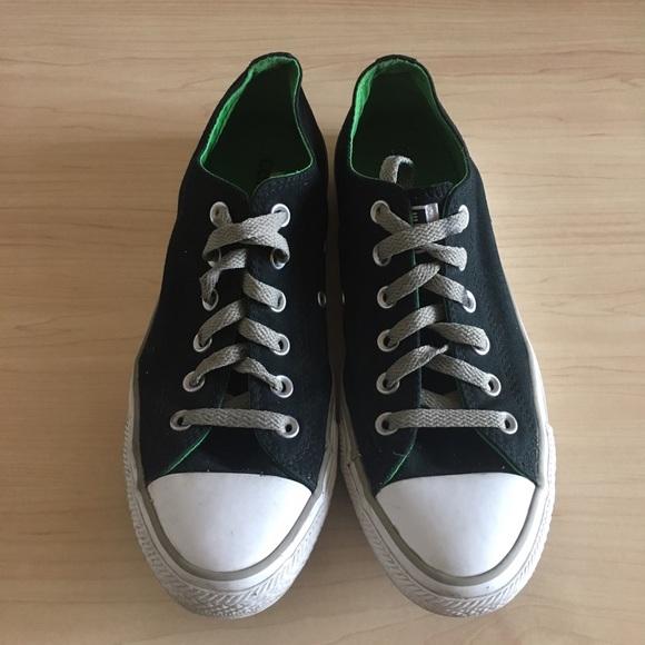 Black All Converse Star Inside Green PiuZkX