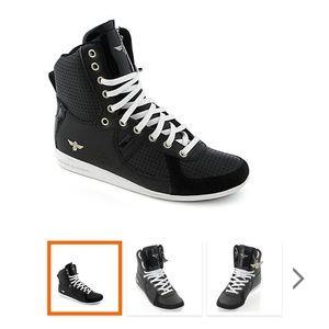 Creative Recreation Shoes - Creative Recreation woman's Black Gallow Hi. 9.5