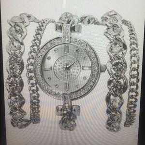 BKE Jewelry - BKE Chain Wrap Watch