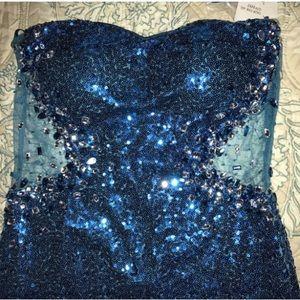 Dresses & Skirts - Sparkley Blue Dress