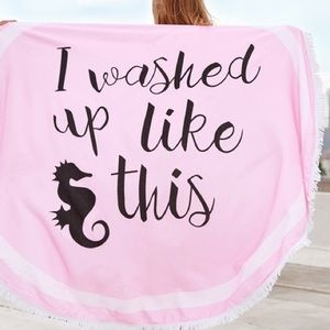 Twilight Gypsy Collective Other - Washed Up Beach Towel/Blanket