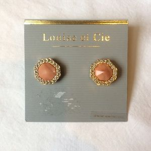 Louise et Cie Jewelry - Louise et Cie Genuine Semi-Precious Earrings