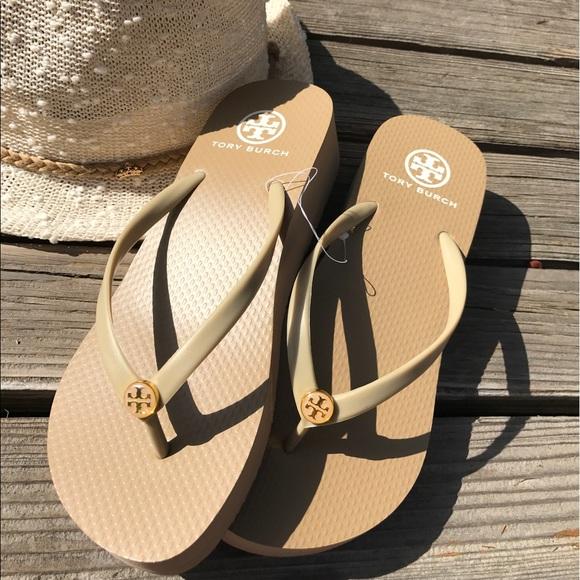 0792eecd01 Tory Burch Shoes | Flip Flops Price Firm2 Left | Poshmark