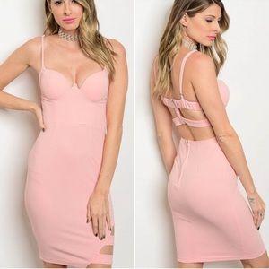 Twilight Gypsy Collective Dresses & Skirts - Blush Back Detail Dress