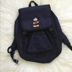 Mickey Mouse canvas backpack