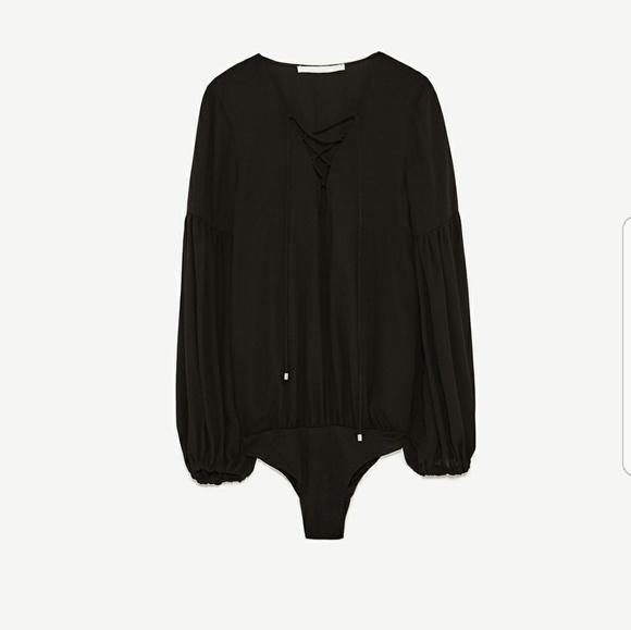 Zara Tops - Zara Cord Bodysuit(NWT)
