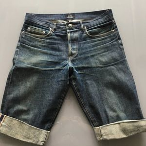 A.P.C. Other - A.P.C. Denim Shorts 30