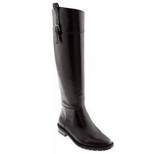 NIB Banana Republic Brown Buckle Riding Boots