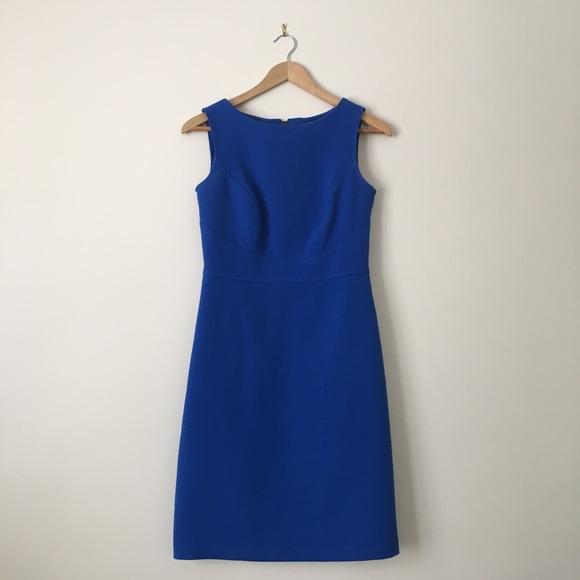 b5118cd1e86 LOFT Dresses   Skirts - Ann Taylor Loft Blue Shift Dress