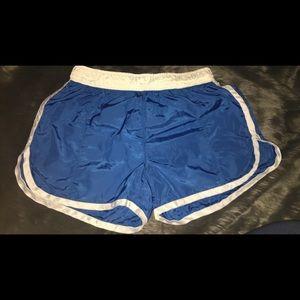 Finish Line Pants - Blue Athletic Shorts