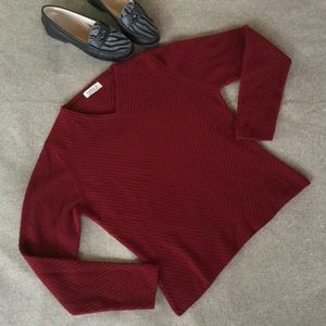 Hawick Sweaters - Hawick of Scotland Cashmere Burgundy Red Sweater