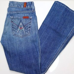"""7 For All Mankind """"A Pocket"""" Jeans"""