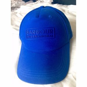 Barbour Accessories - Barbour Royal Blue Baseball Hat