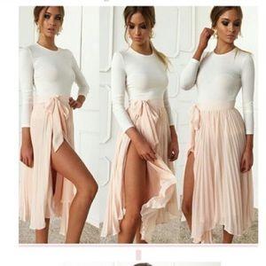 Other - Women's body con 2 piece dress