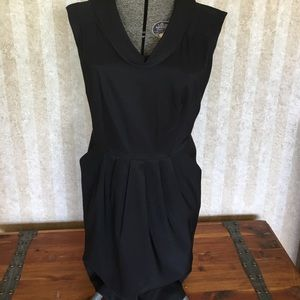 Classic little black dress.