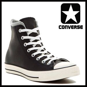 Converse Shoes - ❗️1-HOUR SALE❗️CONVERSE LEATHER SNEAKERS High Tops