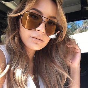 Quay Olive Sahara Desi Sunglasses *NEW*