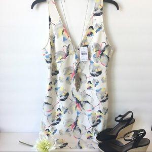 Lush Dresses & Skirts - Lush Double V-Neck Scuba Mini Dress
