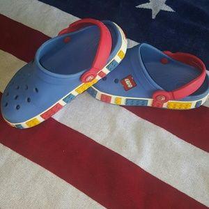 a1a5cac8552c7 CROCS Shoes - Kids Lego Crocband Crocs Size 12 13