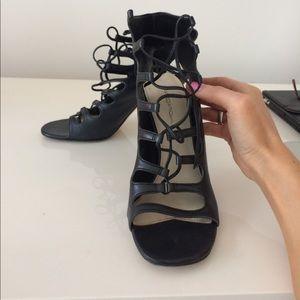 Via Spiga Shoes - Leather Via Spiga Caged Sandals size 7.5