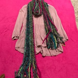 Collection XIIX Accessories - Colorful Knit Scarf