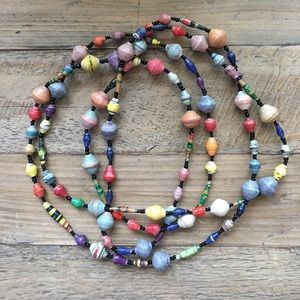 Jewelry - Colorful African Beaded Necklace
