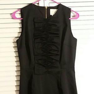 Kate Spade Dresses & Skirts - Kate Spade Black Satin Ruffle Dress