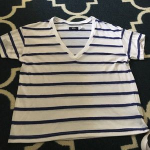 Urban outfitters stripped tshirt