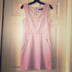Cynthia Steffe baby pink dress with zipper details