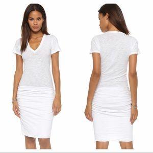 Monrow Dresses & Skirts - Montow Cotton V Neck Shirt Dress