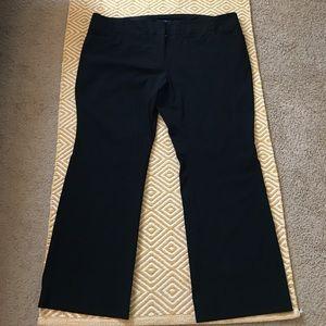Eloquii Pants - Eloquii CURVY FIT Dress Pants - Black, Size 24